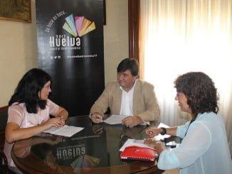 Cruz y Tobar se han reunido con la delegada de Cultura y Turismo de la Junta