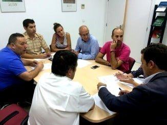 Ayuntamiento y empresarios trabajarán de la mano para defender los intereses generales