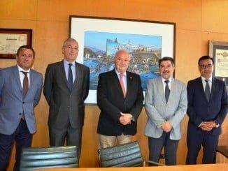 Reunión entre los presidentes de los puertos de Huelva y Tenerife