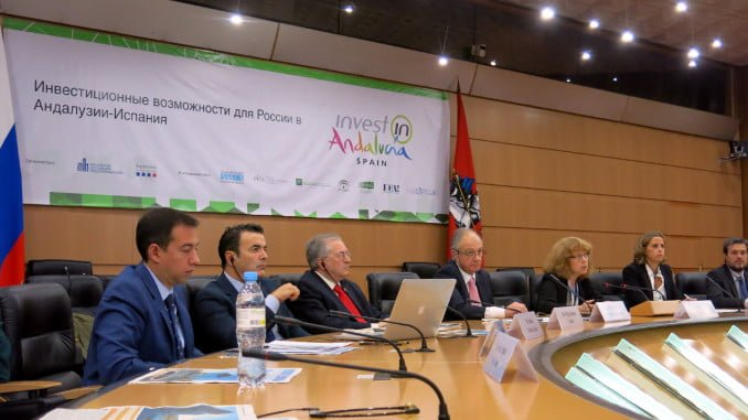 El seminario 'Oportunidades de Inversión en Andalucía' ha reunido a 48 profesionales rusos