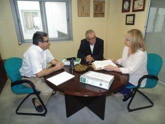 El delegado territorial de Igualdad, Salud y Políticas Sociales, Rafael López, ha visitado la nueva sede