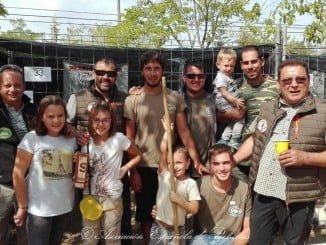 Participantes en la Feria de Caza de Tárrega