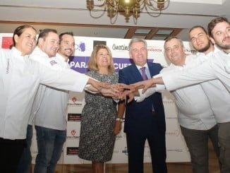 La gastronomía onubense muestra su solidaridad con los enfermos de Alzheimer