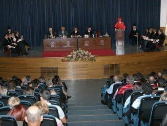 Ramírez de Arellano presidió en Huelva la inauguración oficial del curso académico