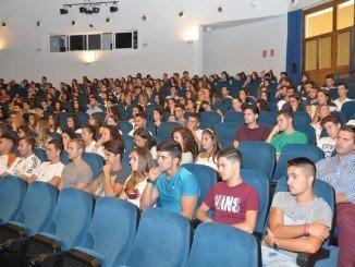 Bienvenida de la Universidad de Huelva a los nuevos estudiantes