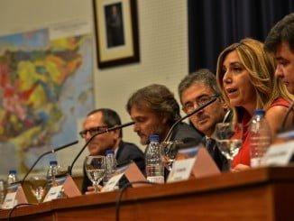 La Presidenta de la Junta de Andalucía, Susana Díaz, inaugura el Congreso Nacional de Geología