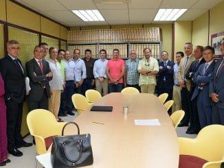 Firma de la operación financiera de la cooperativa con Caja Rural del Sur, Caixbank y Cajamar