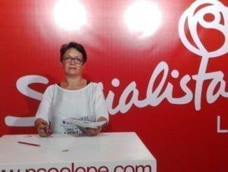 Presidenta del PSOE de Lepe, María Bella Martín