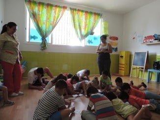 Empleadas del Servicio de Ayuda a Domicilio han podido dejar a sus hijos en este espacio
