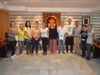 En la imagen los elegidos para realizar los trabajos del PFEA en Punta