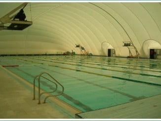 La piscina cubierta de la Ciudad Deportiva de Huelva, cerrada indefinidamente