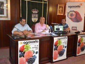 Imagen retrospectiva de la presentación de la presente edición de Agrocosta que hoy comienza