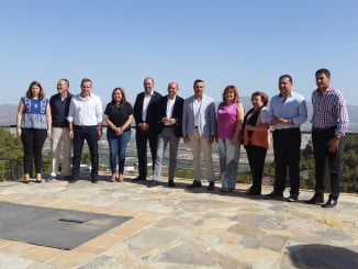 Los portavoces socialistas de las ocho diputaciones andaluzas se han reunido en Serón (Almería)