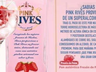 La etiqueta de Pink Rives llevará el logotipo de Fresón de Palos