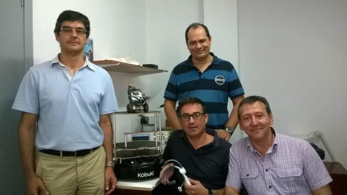 Rafael López de Ahumada, Fernando Gómez, Raúl Jiménez y Juan Antonio Gómez