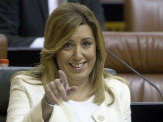 Susana Día se mantuvo ayer en silencio.