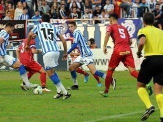 Cambio de mentalidad del Recre en una semana. de golear al Murcia a terminar siendo goleado en casa ante el Linares.