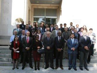 Los participantes de el curso de AEMET