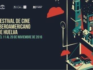 Cartel de la 42 edición del Festival de Cine Iberoamericano de Huelva