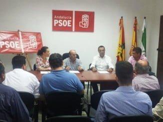 Caraballo ha presidido la constitución de la agrupación local en Cumbres de Enmedio