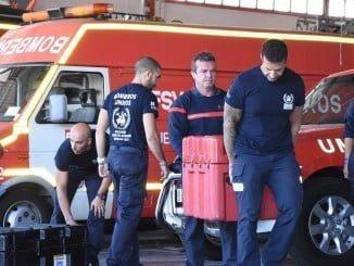 Los bomberos ultiman los preparativos para viajar al país caribeño