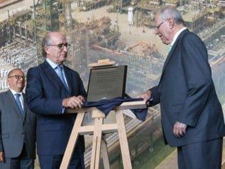 Antonio Brufau y Pedro Pablo Kuczynski inauguran la nueva unidad de la refinería de La Pampilla