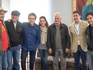 Los artistas fueron invitados a una recepción en Vila Real de Santo Antonio