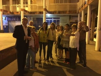 Concejales del Grupo Popular el Ayuntamiento de Huelva se quedaron sorprendidos del abandono del Molino y Nuevo Molino.