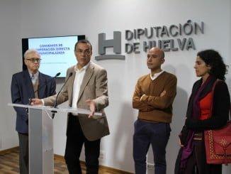 Diputación ha firmado hoy varios convenios en materia de cooperación