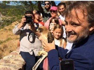 El consejero de Medio Ambiente ha participado en Aracena en el Día internacional de las Aves