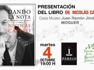 El autor firmará ejemplares de su libro y ofrecerá un concierto