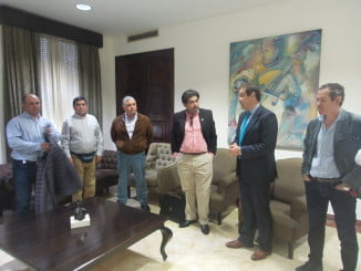 La delegación chilena quiere conocer las innovaciones tecnológicas que nuestros agricultores implantan en el sector de las berries
