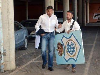 El nuevo presidente, Manolo Zabrano, quiere recuperar la personalidad perdida del Recre y el escudo histórico del club.