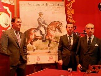En la foto, de izquierda a derecha, Jaime Molina, Marcelo Maestre y Ernesto Vázquez.