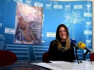 Cristina Losada, concejal de Comercio del Ayuntamiento de Valverde del Camino