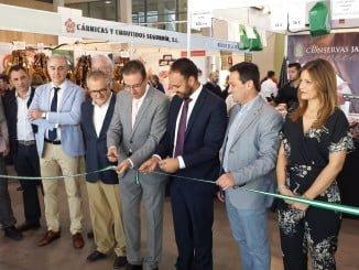 Inauguración de la IV Semana del Jamón Ibérico y XXI Feria Regional del Jamón y del Cerdo Ibérico