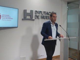 Portavoz del PSOE en la Diputación de Huelva, José Luis Ramos