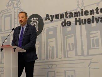 Manuel Gómez Márquez, portavoz del equipo de Gobierno del Ayuntamiento de Huelva