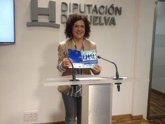 La gruía ha sido presentada por la vicepresidenta de la Diputación de Huelva, María Eugenia Limón