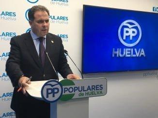 Juan Carlos Duarte pide soluciones a la Junta ante el colapso sanitario en Huelva
