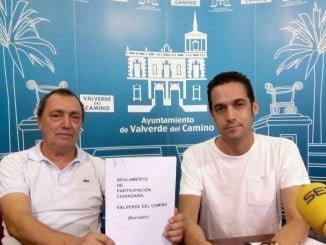El viceportavoz del PSOE en el Ayuntamiento de Valverde del Camino, Javier Becerril