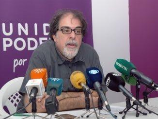 Jesús Romero, parlamentario andaluz de Podemos