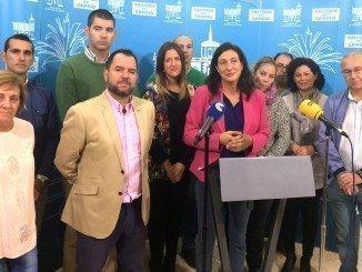 Loles López ha presentado su renuncia arropada por todo su equipo de Gobierno