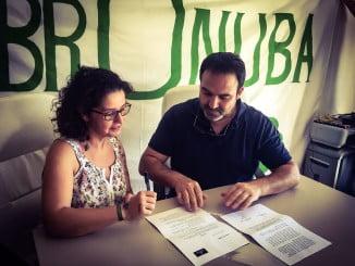 Mamen Zapata y Federico Pérez rubrican el acuerdo