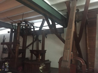 """Molino del Centro de Arte """"Harina de otro costal"""", en Trigueros"""