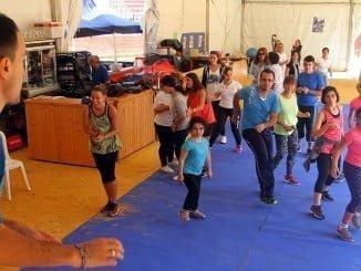 Mucha participación en el I Encuentro de Deporte en Familia de la Fundación Laberinto.