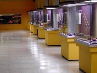 Los participantes han podido conocer los fondos arqueológicos del Museo