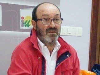 El portavoz provincial de IU, Pedro Jiménez, defenderá la moción