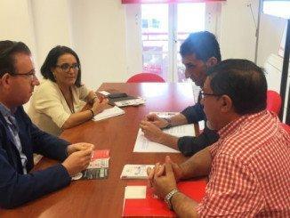 UGT se ha reunido con los diputados socialistas para explicarles su campaña sobre las pensiones
