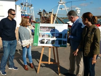 Romero ha visitado las obras junto a la delegada de Fomento y la primera teniente alcalde de Punta Umbría